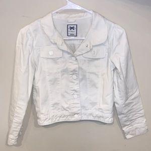 White Jean jacket from Gymboree